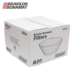 Bravilor - 203/535 Basket Filtre Kahve Kağıdı 250 Adet (1)