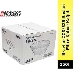 Bravilor - 203/535 Basket Filtre Kahve Kağıdı 250 Adet