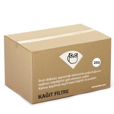 Kahveciniz 250/90 Basket Filtre Kagidi 250 Li