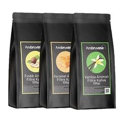 Cafe Ambruvase - Ambruvase Aromalı Filtre Kahve Seti