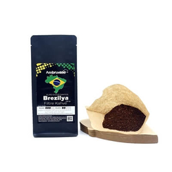 Cafe Ambruvase - Ambruvase Brezilya Euro Dulce Santos Filtre Kahve 250 Gr (1)