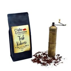 Cafe Ambruvase - Ambruvase Damla Sakizli Türk kahvesi 500 Gr Tnk (1)