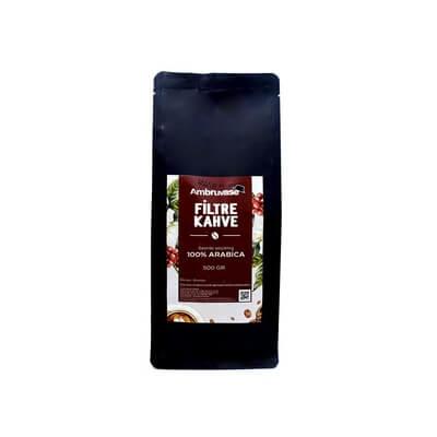 Ambruvase Taze Çekilmiş Filtre Kahve 500 Gr