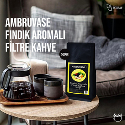 Cafe Ambruvase - Ambruvase Fındık Aromalı Filtre Kahve 500 Gr (1)