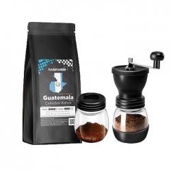 Cafe Ambruvase - Ambruvase Guatemala 250 Gr Çekirdek Kahve & Kahve Değirmeni Hediyeli !