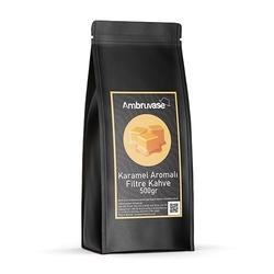 Cafe Ambruvase - Ambruvase Karamel Aromalı Filtre Kahve 500 Gr