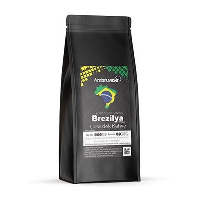 Ambruvase Kavrulmuş Çekirdek Kahve Brezilya Euro Dulce Santos 250 Gr