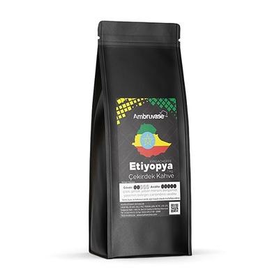 Ambruvase Kavrulmuş Çekirdek Kahve Etiyopya Yirgacheffe 1 Kg