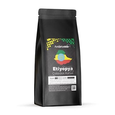 Ambruvase Kavrulmuş Çekirdek Kahve Etiyopya Yirgacheffe 250 Gr