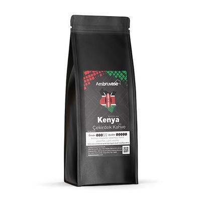 Ambruvase Kavrulmuş Çekirdek Kahve Kenya AA 1 Kg