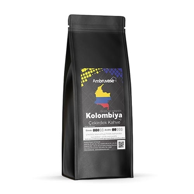 Ambruvase Kavrulmuş Çekirdek Kahve Kolombiya Excelso 1 Kg