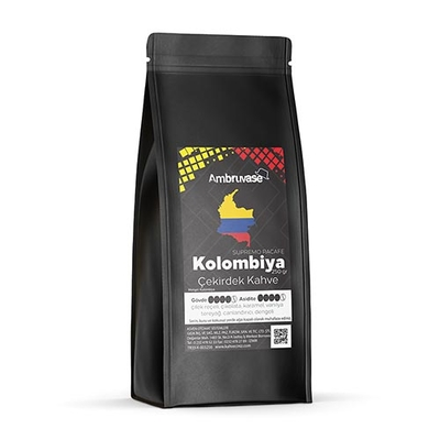 Ambruvase Kavrulmuş Çekirdek Kahve Kolombiya Supremo 250 Gr