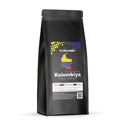 Cafe Ambruvase - Ambruvase Kolombiya Excelso Washed Filtre Kahve 250 Gr