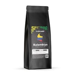 Cafe Ambruvase - Ambruvase Kolombiya Supremo Racafe Filtre Kahve 1 Kg
