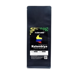 Cafe Ambruvase - Ambruvase Kolombiya Supremo Racafe Filtre Kahve 1 Kg (1)