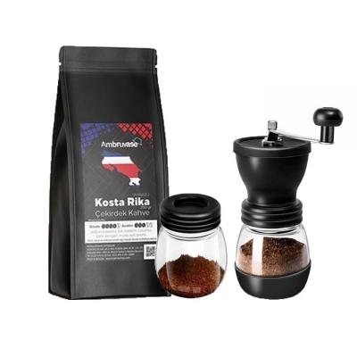 Ambruvase Kostarika 250 Gr Çekirdek Kahve & Kahve Değirmeni Hediyeli !