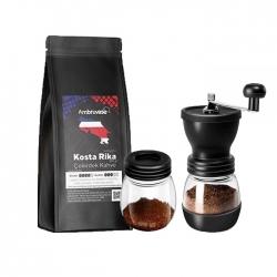 Cafe Ambruvase - Ambruvase Kostarika 250 Gr Çekirdek Kahve & Kahve Değirmeni Hediyeli !