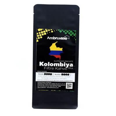 Ambruvase Kolombiya Supremo Racefe Filtre Kahve 250 Gr