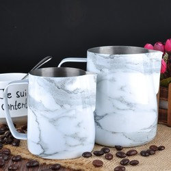 Barista Space - Barista Space Marble Pitcher 350 Ml (1)