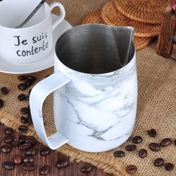 Barista Space - Barista Space Marble Pitcher 350 Ml