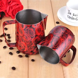 Barista Space - Barista Space RedRose Pitcher 350 Ml (1)