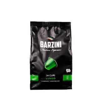 Barzini Lungo Nespresso Uyumlu Kapsül Kahve 24'Lü
