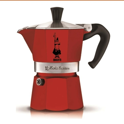 Bialetti Moka Pot Express Kırmızı 3 Cup