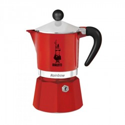 Bialetti - Bialetti Rainbow 3 Cups Red