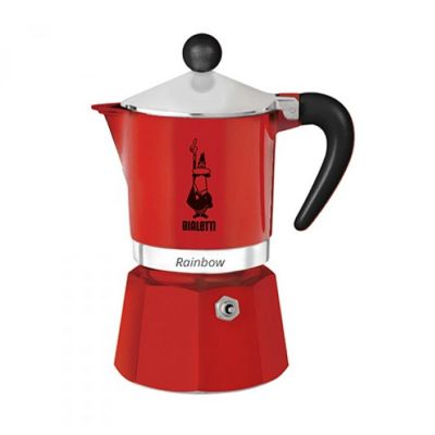 Bialetti Rainbow 3 Cups Red