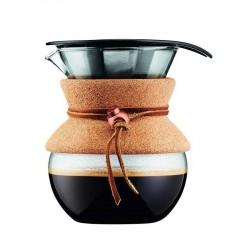Bodum - Bodum 4 Cup Kahve Demleme Ekipmani ve Metal Filtre