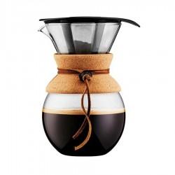 Bodum - Bodum 8 Cup Kahve Demleme Ekipmani Ve Metal Filtre
