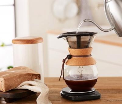 Bodum 8 Cup Kahve Demleme Ekipmani Ve Metal Filtre