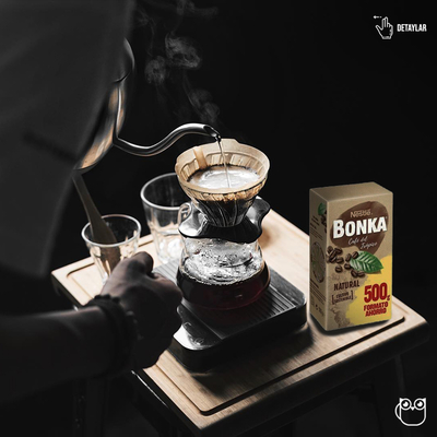 Bonka Natural Filtre Kahve 500 Gr