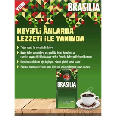 Brasilia Filtre Kahve 500 Gr