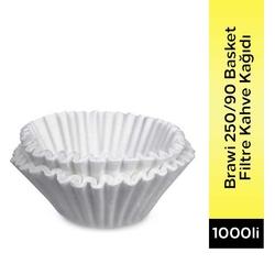 Brawi - Brawi 250/90 Basket Filtre Kahve Kağıdı 1000 Li