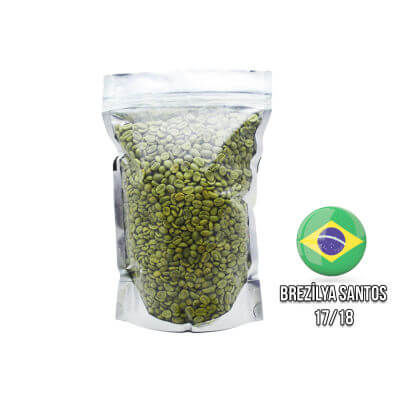 Ambruvase Brezilya Santos Çig Kahve Çekirdegi 1 Kg