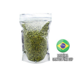 Cafe Ambruvase - Cafe Ambruvase Brezilya Santos Fine Cup Kavrulmus Kahve Çekirdeği 1 Kg