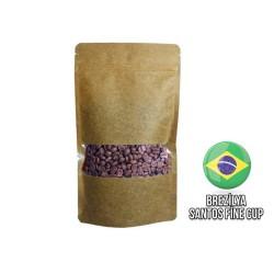 Cafe Ambruvase - Ambruvase Brezilya Santos Fine Cup Kavrulmus Kahve Çekirdegi 250 Gr