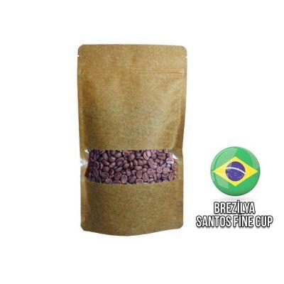 Ambruvase Brezilya Santos Fine Cup Kavrulmuş Kahve Çekirdeği 250 Gr