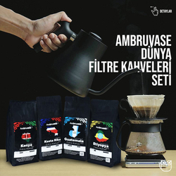 Cafe Ambruvase - Dünya Filtre Kahveleri Seti 2 (1)