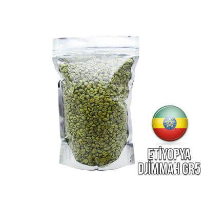 Ambruvase Etiyopya Djimmah GR5 Çig Kahve Çekirdegi 1 Kg