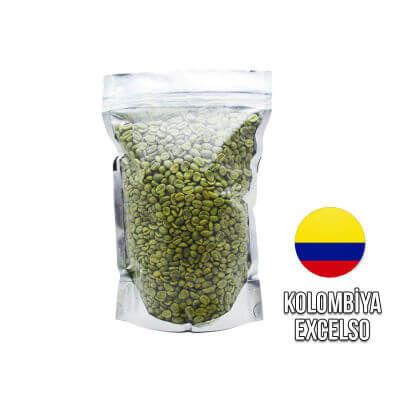 Ambruvase Kolombiya Excelso Washed Çig Kahve Çekirdegi 1 Kg