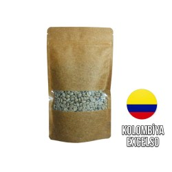 Cafe Ambruvase - Ambruvase Kolombiya Excelso Washed Çig Kahve Çekirdegi 250 Gr