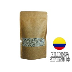 Cafe Ambruvase - Ambruvase Kolombiya Supremo Racafe 18 SC Çig Çekirdek Kahve 250 Gr