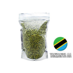 Cafe Ambruvase - Ambruvase Tanzanya AA Mount Ruegwe Çiğ Kahve Çekirdeği 1 Kg