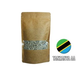 Cafe Ambruvase - Ambruvase Tanzanya AA Mount Ruegwe Çiğ Kahve Çekirdeği 250 Gr