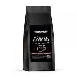 Cafe Ambruvase - Ambruvase Yüksek Kafeinli Filtre Kahve 250 Gr
