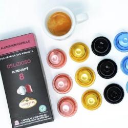 Cafe Silvestre - Cafe Silvestre Delızıoso RF Nespresso Uyumlu Kapsül Kahve 10'Lu (1)