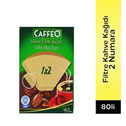 Caffeo - Caffeo Filtre Kahve Kağıdı 2 Numara 80 Adet