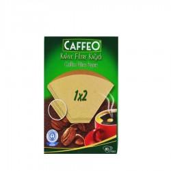 Caffeo - Filtre Kahve Kağıdı 80 Adet 2 Numara